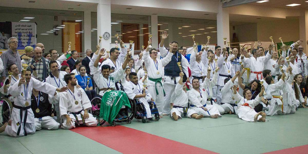 Campeonato de Artes Marciales para Personas con Discapacidad