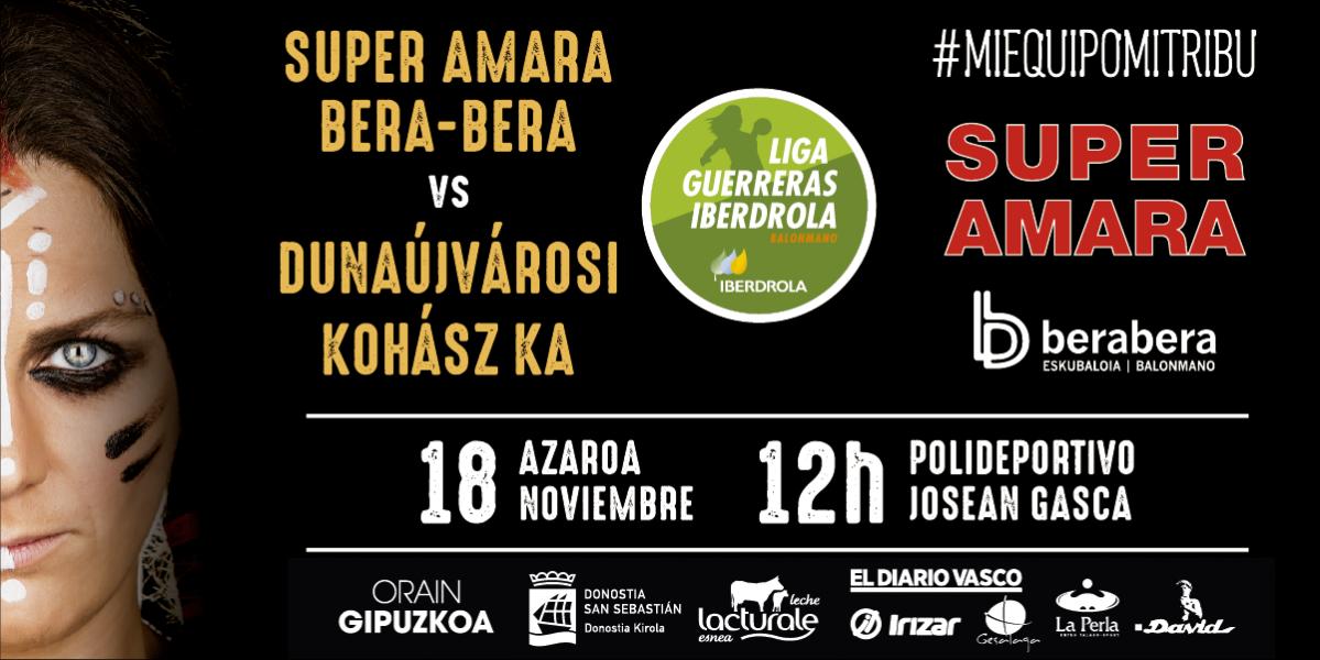 SUPER AMARA, ida en Hungría el día 10 y vuelta en el Gasca, el 18
