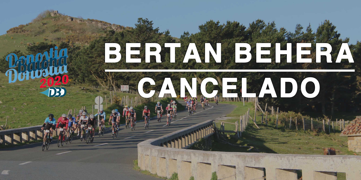 Cancelación DBD 2020